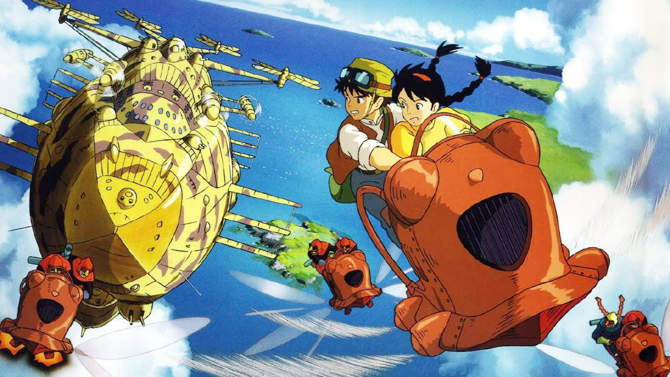 Retrospective: Laputa Castle in the Sky (1986) – Warped Perspective